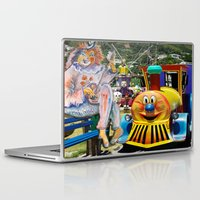 forever young Laptop & iPad Skins featuring Forever Young by CrismanArt