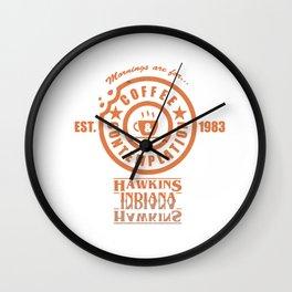 Coffee & Contemplation Wall Clock