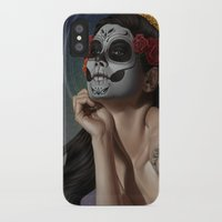skulls iPhone & iPod Cases featuring Skulls by Joifish