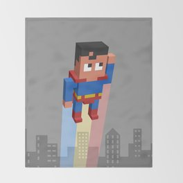 Superkid Throw Blanket