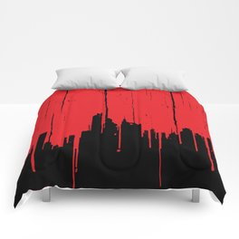 Paint it Red Comforters