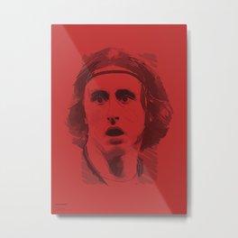 World Cup Edition - Luka Modric / Croatia Metal Print