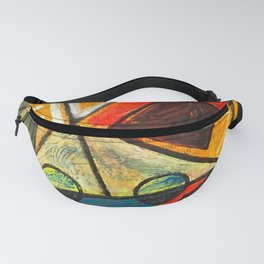 Abstact by Olga Rozanova - Vintage Painting Fanny Pack