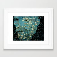 van gogh Framed Art Prints featuring Van Gogh by Anna Kelly