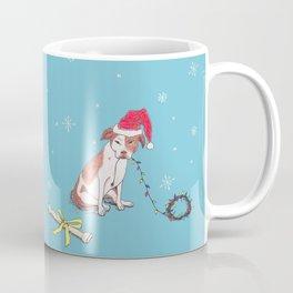 Santa Pup Coffee Mug