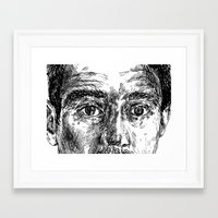 ali Framed Art Prints featuring Ali by hitit