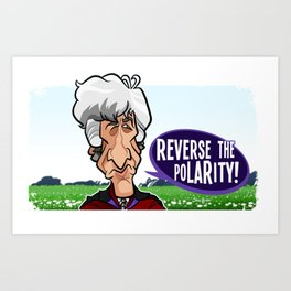 Reverse the Polarity Art Print
