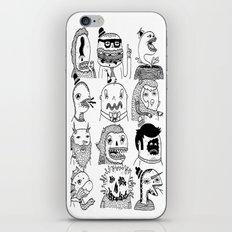 Monster Meet Up iPhone & iPod Skin