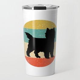 Cairn Terrier Dog Gift design Travel Mug