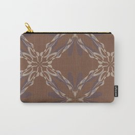 Pattern brown decoration Carry-All Pouch