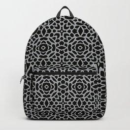 Lattice Grey Backpack
