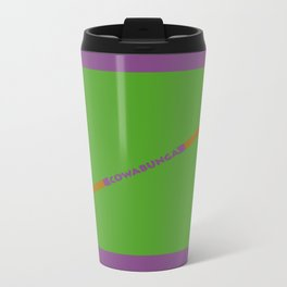 Cowabunga (Donatello Version) Metal Travel Mug
