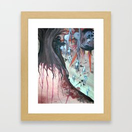 Composing Destiny - Watercolor Painting Framed Art Print