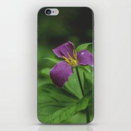 Western Trillium iPhone Skin