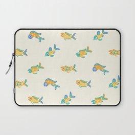 Pastel fish pattern Laptop Sleeve