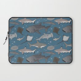 Sharks and Rays Laptop Sleeve