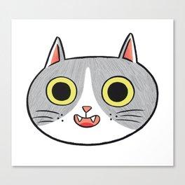 Crazy eyes Canvas Print