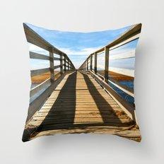 Cross the Bridge Throw Pillow