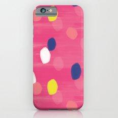Spotty Pink Slim Case iPhone 6s