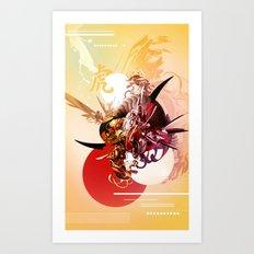 Ikaru mkii Art Print