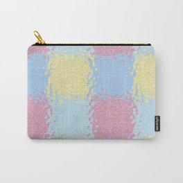 Pastel Jiggly Tile Pattern Carry-All Pouch