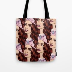 Tessellated Lady G Tote Bag