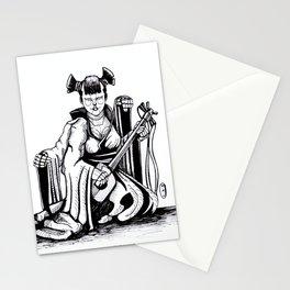 Inktober: Graceful Stationery Cards