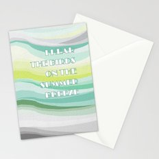 Breeze of change Stationery Cards