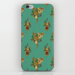 Fox and Scissors iPhone Skin