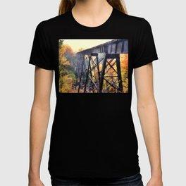 Upper Peninsula Train Trestle T-shirt