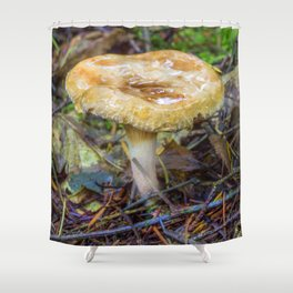 Small Fungi Shower Curtain