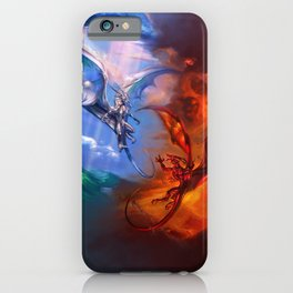 Order and Chaos iPhone Case