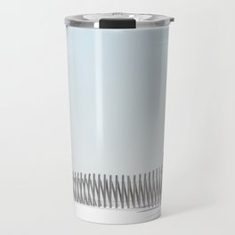 Linear Winter Travel Mug