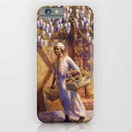 Classical African-American Masterpiece 'A Vendor' by Edwin Harleston iPhone Case