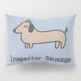 Inspector Sausage Pillow Sham