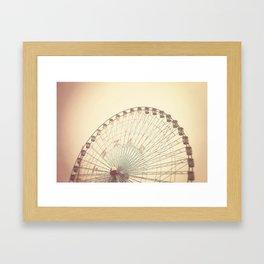 Texas Star Framed Art Print