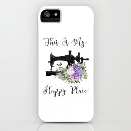 This Is My Happy Place iPhone Case