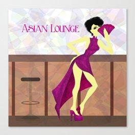 Asian Lounge Canvas Print