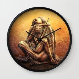 Beksinski love Wall Clock