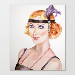 The seductress Canvas Print