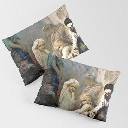 Gustave Dore - La Siesta, Memory Of Spain - Digital Remastered Edition Pillow Sham
