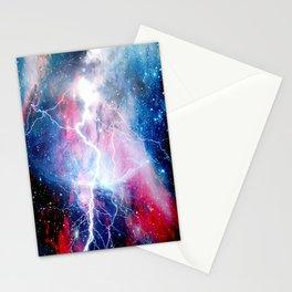 Starred Lightning Stationery Cards