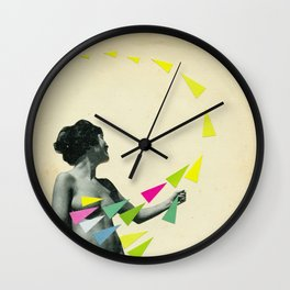 She's a Whirlwind Wall Clock