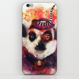 Lemur ( The Pimp Le-Mur ) iPhone Skin