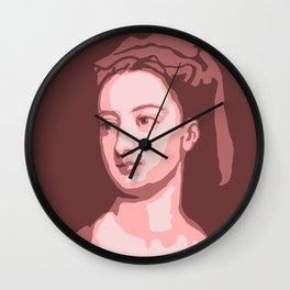 Lady Mary Wortley Montagu Wall Clock