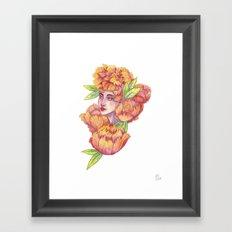 Peonies 1/2 Framed Art Print