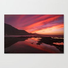 Sunset Punta del Hidalgo Canvas Print