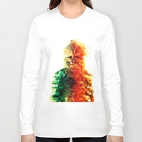 chewbacca Long Sleeve T-shirts featuring Chewbacca by Tom Johnson