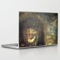imagerybydianna Laptop & iPad Skins featuring reina, of moon and paper by Imagery by dianna