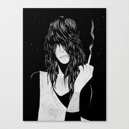 Smokey Chick Canvas Print